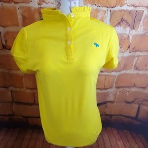 Tracy Negoshain yellow shirt Size L